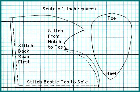 Free Cowboy Bootie Pattern Lena Patterns